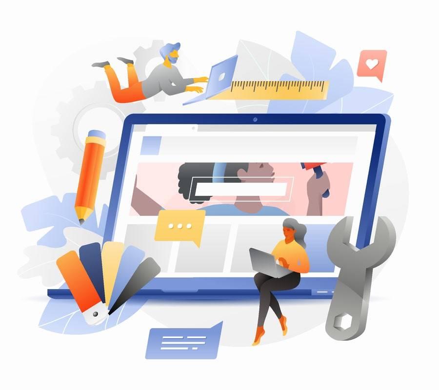web designers creating beautiful websites