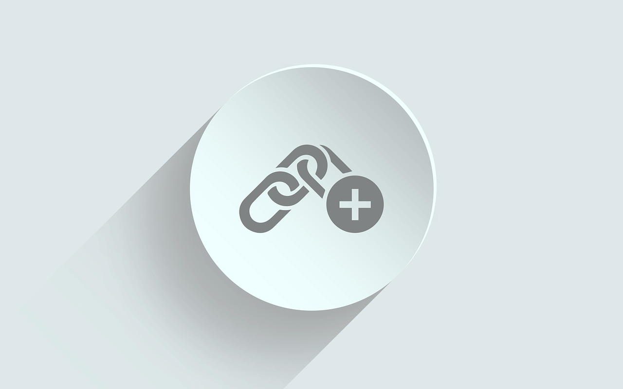 round hyperlink icon