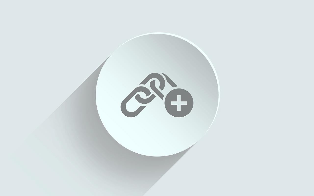 round hyperlink icon